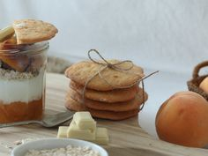 Irresistible dessert with yogurt, white chocolate, summer fruit (peach), jam... #food #foodporn #foodies #breakfast