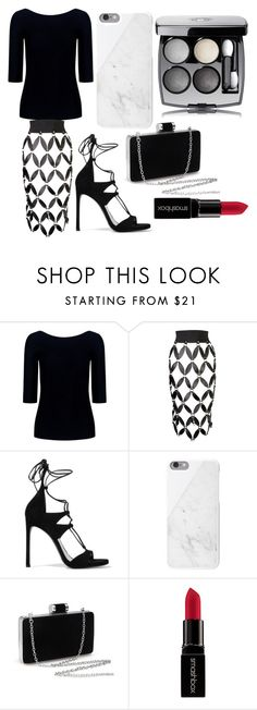 """""""Boss"""" by i-live-in-the-valley-49 ❤ liked on Polyvore featuring Theory, Zana Bayne, Stuart Weitzman, Native Union and Smashbox"""