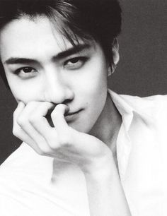 It looks like SOMEONE *glares at sehun* is trying to KILL me