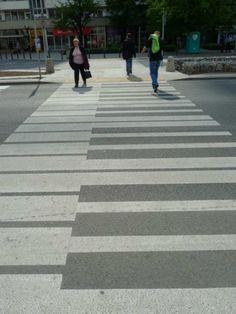 best cross walk ever.