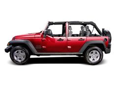 red jeep wrangler unlimited with half doors | jeep wrangler unlimited red 2011 houston
