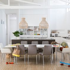 Absolutely everything at Freedom is on sale until July 15 Bookcase With Drawers, Bookshelf Storage, Bookshelves, Extension Dining Table, Dining Set, Dining Chairs, Dining Room Inspiration, Living Room Kitchen, Sweet Home