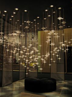 This shows just how light and glass can work together and really be beautiful.