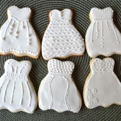 bridal cut out cookies