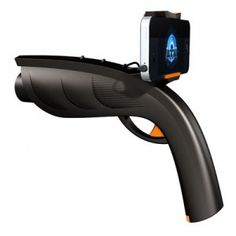 The Coolest Thing you'll See All Day: iPhone meets laser tag!!    Turns your phone into a laser tag!   www.zagg.com