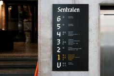 Sentralen by Metric Design, Norway