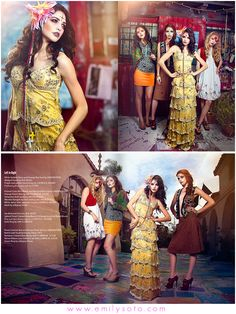 Photoshoot & makeup idea: High fashion Day of the Dead; I would love to have something like this shot around Olvera St.
