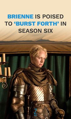 Gwendoline Christie promises a bigger role for Brienne in the upcoming season!