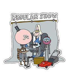 Look what I found on #zulily! The Regular Show Magnet #zulilyfinds