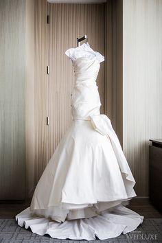 The Bride wore Oscar de la Renta. | Photography: Ikonica | #fourseasons #Toronto #weddings #fsweddings #bridal #springwedding #spring #bridalfashion