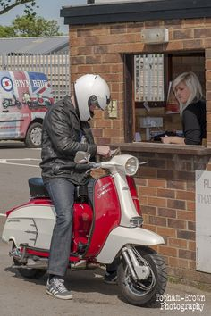 Lambretta - 2014 arrivals www.bwmrally.co.uk