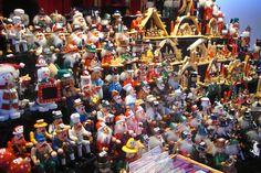German Christmas market in Edinburgh.