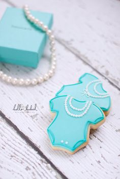 Tiffany & Co. Baby Shower Cookies