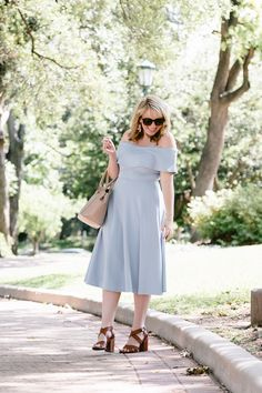 The Comfiest Pale Blue Dress for Summer