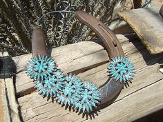 ~*AZCorral.com*~  Rustic Horseshoe Art