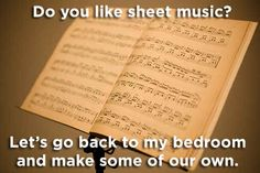 14 Pick-Up Lines Only A Musician Can Use