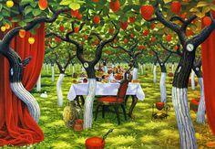 Poziomkowy sad / Wild Strawberry Orchard