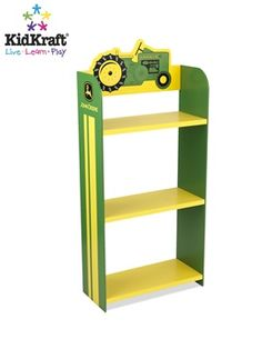 John Deere® Bookshelf by KidKraft | Kid Furniture World