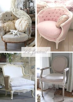 [MCD] Inspiration pour une chambre Shabby Chic More