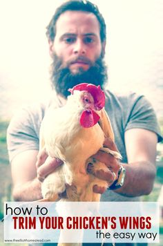 Trimming Chicken Wings | The Elliott Homestead