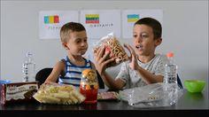 Δοκιμάζουμε snacks από διάφορες χώρες challenge