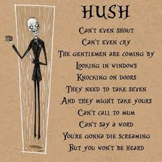 Hush, wish the Silence didn't look so much like these guys... the Gentlemen are scary!!