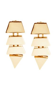 Eddie Borgo Scaled Triangle Studs- MAJOR WANT. not even bad at $240
