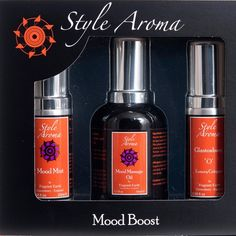 Mood Boost Kit Elevate, transform, meditate, love whatever you feel, this selection of beautiful, unique, active fragrance will delight and fill the senses. Adaptive applied essential oils combine to reflect happiness to contemplation, desire to tranquillity. The ideal Gift Set for loved ones or yourself!
