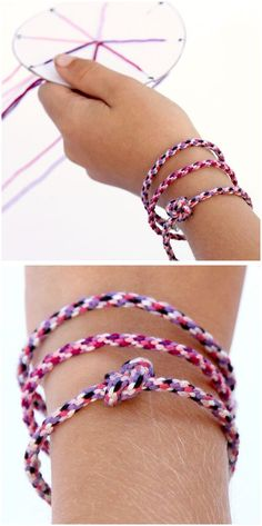 Jellyfish Friendship Bracelets – Free Printable Template