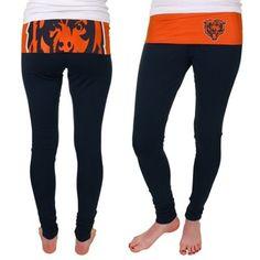 Chicago Bears Sublime Knit Leggings - Black