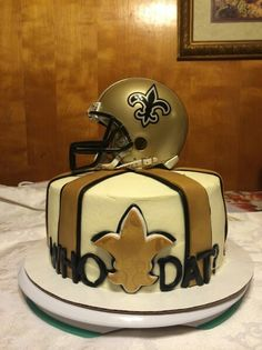 New Orleans Saints CakeWho Dat
