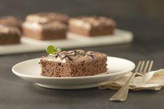 Rezept für Schokoladenkuchen mit Almette-Nougatcreme