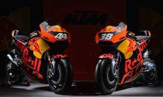 Red Bull KTM MotoGP bikes for 2016. . 'No pressure!' - Red Bull expects KTM MotoGP title