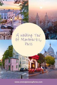 Montmartre: A Village Vibe In The City Of Paris Paris France Travel, Paris Travel Tips, Europe Travel Guide, Travel Guides, What To Do Outside, Paris Itinerary, Emma Jane, Paris Photography, City Break
