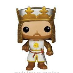 FIGURA POP MONTY PHYTON: KING ARTHUR … Precio de Ocasión, Figura de vinilo, tamaño aprox. 9 cm.