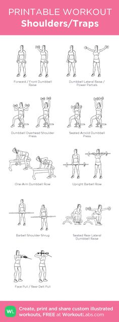 Shoulders/Traps #ShoulderWorkout