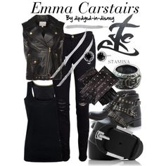 """Emma Carstairs"" by dipdyed-in-disney on Polyvore"