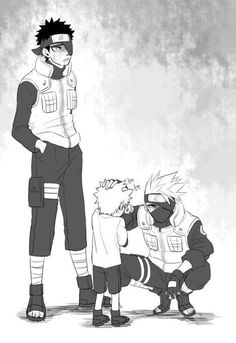 Naruto Uzumaki Shippuden, Naruto Kakashi, Anime Naruto, Comic Naruto, Kid Naruto, Naruto Shippuden Characters, Naruto Teams, Naruto Fan Art, Naruto Cute