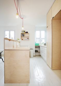plywood kitchen / Thisispaper Magazine