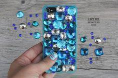 DIY Bedazzled Phone Case