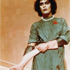 Goodnight / morning to you all and a happy new year once again this year is a different me Ill be happy and healthy again x #rockyhorrorpictureshow #franknfurter #timcurry