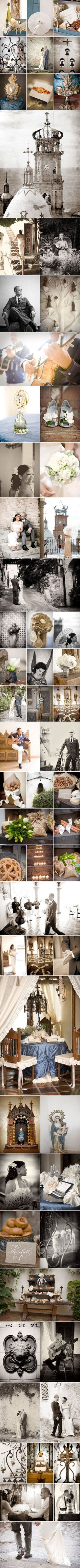 Absolutely love this elopement to the detail...Romantic Mexican Marriage.