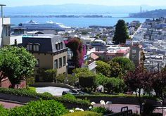 Lombard street. San Francisco, California. Photo by Andy New.