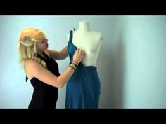 Mexicali's Magic Infinity Dress Tutorial - Halter Top Dress