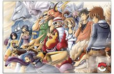 Pokemon: Kanto Side by ~e1n on deviantART