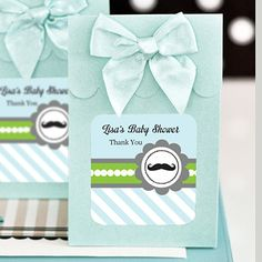 Sweet Shoppe Candy Boxes - Little Man Party (set of 12)**GOLD & LILAC OUT OF STOCK UNTIL 1-17-14**