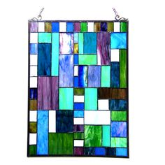 Found it at Wayfair - Picasso Glass Rectangle Window Panel