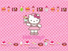 Hello Kitty Pictures For Background | hello kitty wallpaper 3800 Desktop Wallpaper