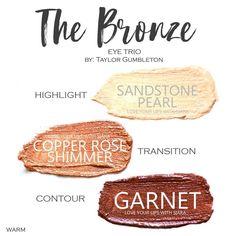 The Bronze #444658 #lovelydovebeauty