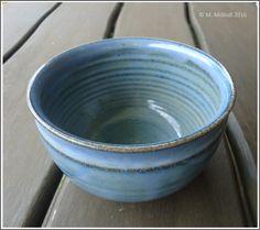 Tiefe, glasierte Schüssel  #Keramik #ceramics #bowl